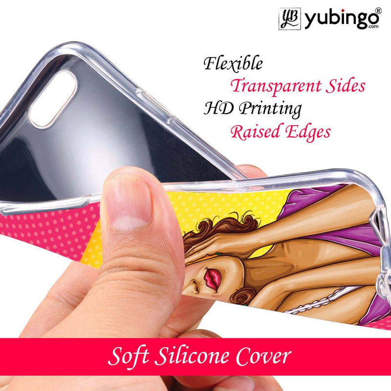 Music Girl Back Cover for Micromax Dual 4 E4816-Image3