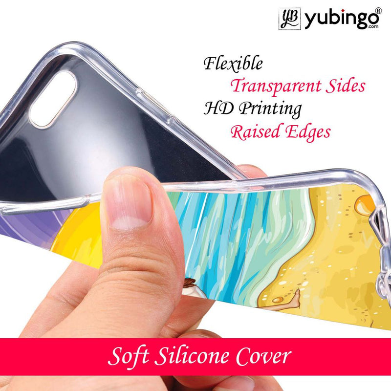 Sunrise with Yoga Back Cover for Infinix Note 5 Stylus-Image3