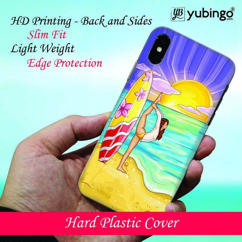 Sunrise with Yoga Back Cover for Apple iPod Touch 6