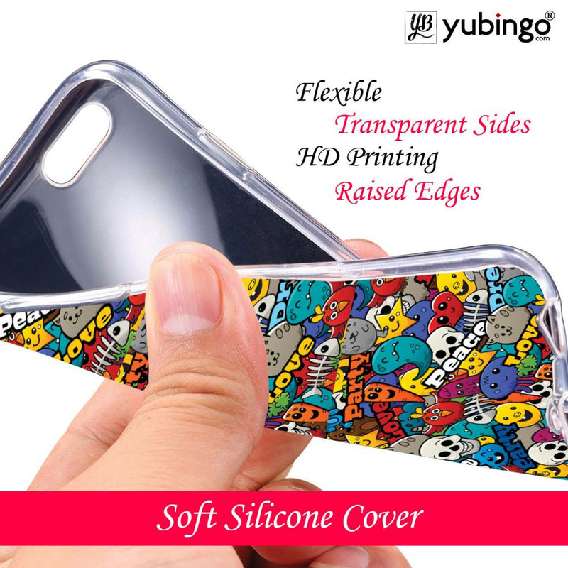 Funny Pattern Back Cover for Xolo Era 1X Pro-Image3