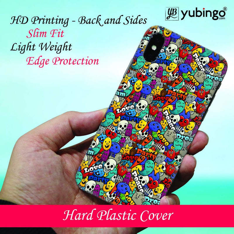 Funny Pattern Back Cover for Oppo RX17 Pro