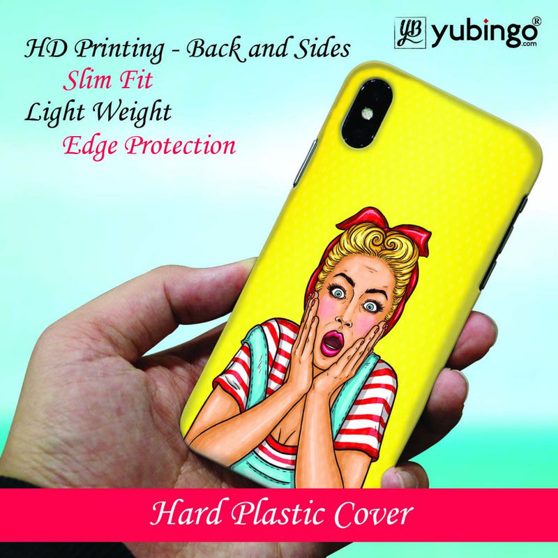 Surprised Back Cover for Xiaomi Redmi Note 5 Pro