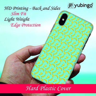 Banana Pattern Back Cover for Apple iPhone X