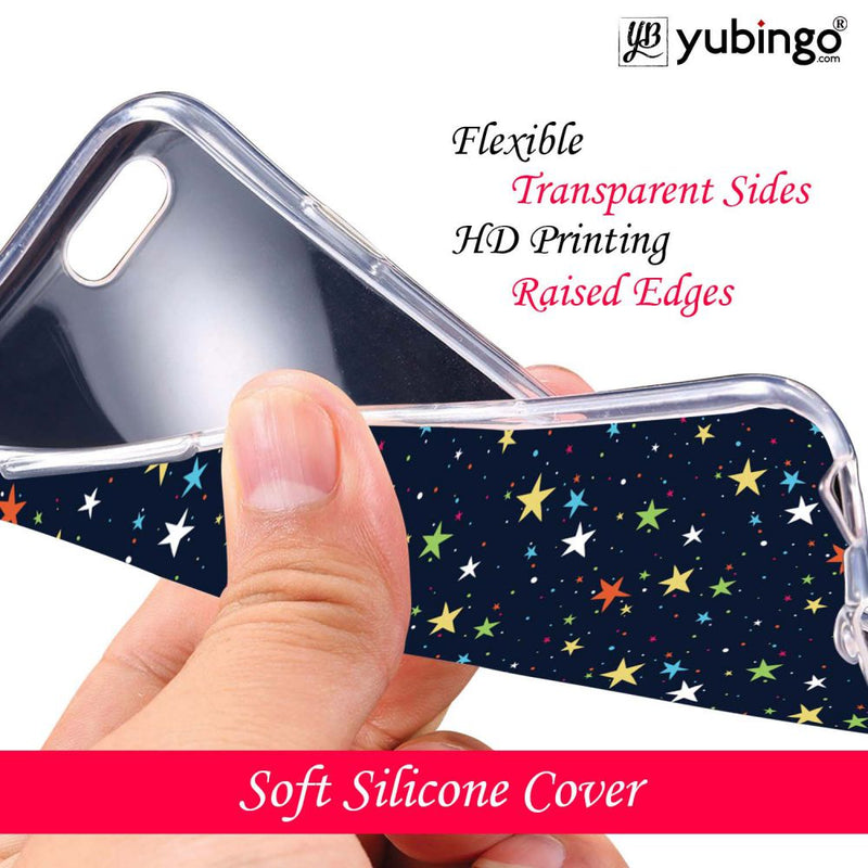 Colourful Stars Back Cover for Micromax Dual 4 E4816-Image3