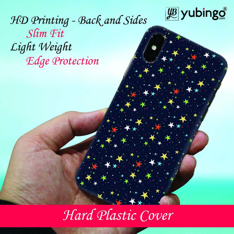 Colourful Stars Back Cover for Samsung Galaxy A50