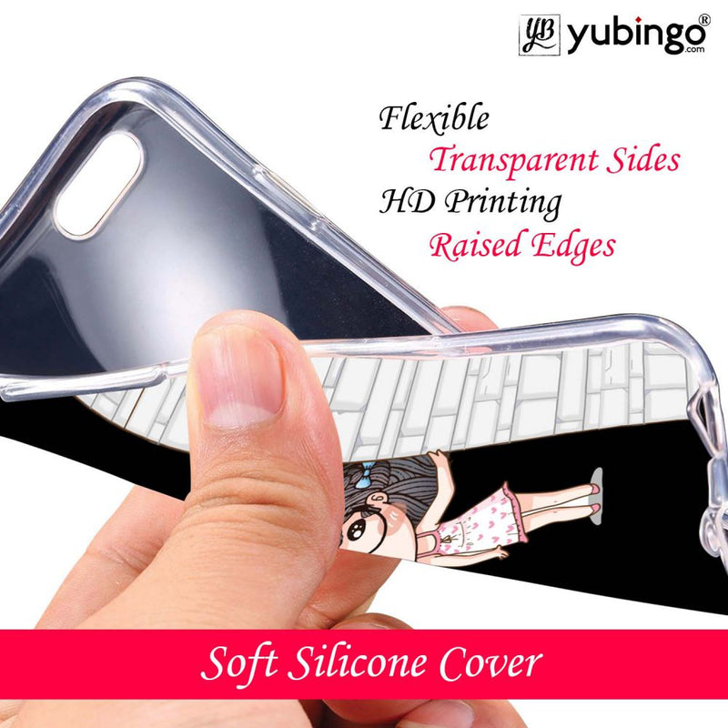Innocent Girl Back Cover for Infinix Note 5 Stylus-Image3