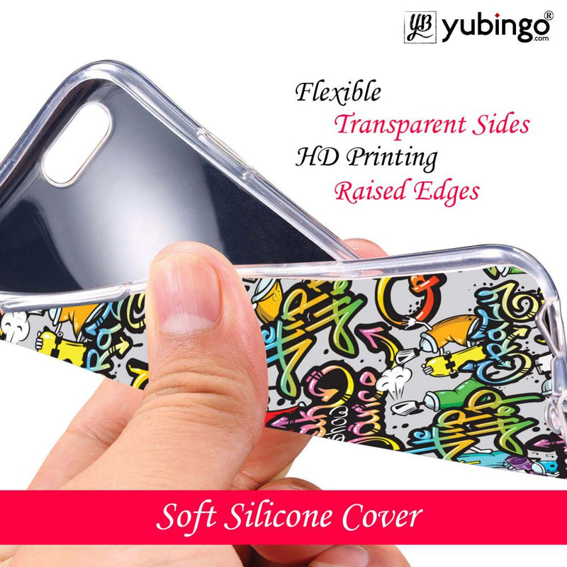 Crazy Graffiti Back Cover for Coolpad Mega 5M