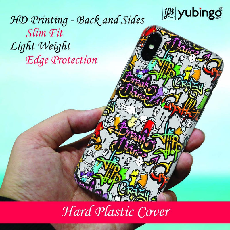 Crazy Graffiti Back Cover for Apple iPod Touch 6