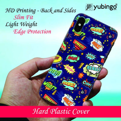 Comic Pattern Back Cover for Samsung Galaxy S9-Image2
