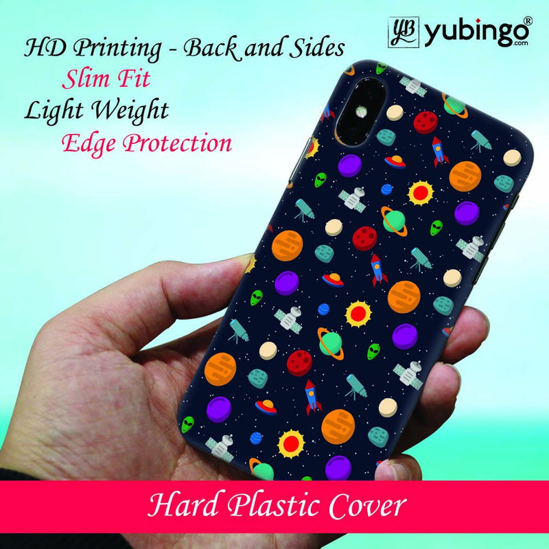 Galaxy Pattern Back Cover for LG V40 ThinQ