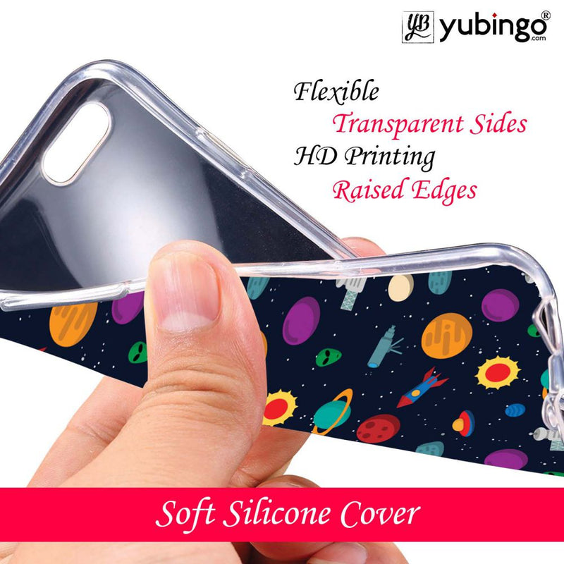 Galaxy Pattern Back Cover for Infinix Note 5 Stylus-Image3