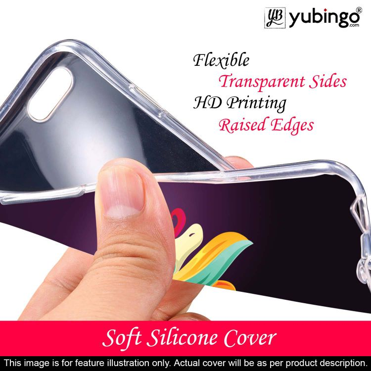 Stylish Unicorn Back Cover for Itel A46-Image3