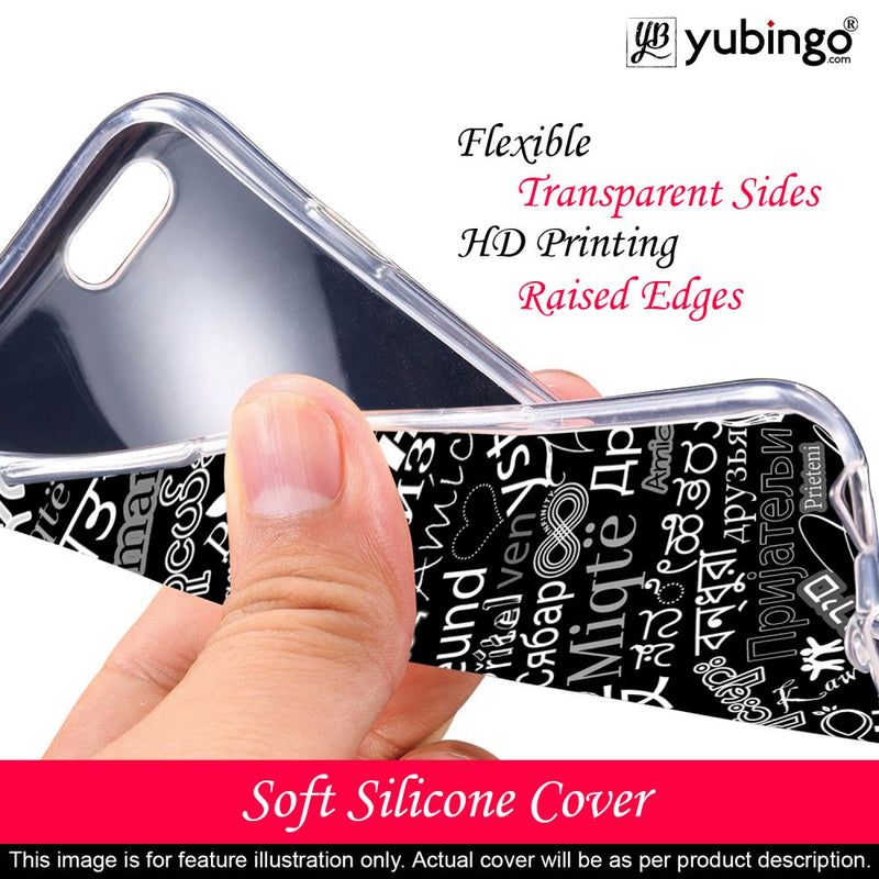 Friend in All Languages Back Cover for Mobiistar X1 Notch