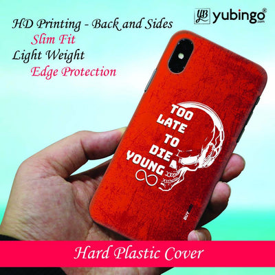 Die Young Back Cover for Apple iPhone 8 Plus-Image2