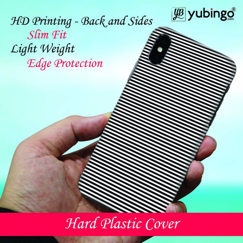 Black Stripes Back Cover for Samsung Galaxy M30