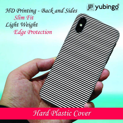 Printed Marble Pattern Back Cover for Apple iPhone X-Image4