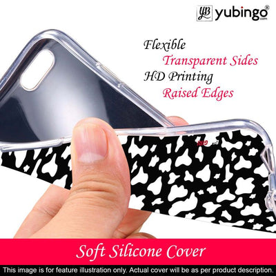 Black And White Pattern Back Cover for Lava Z41-Image2