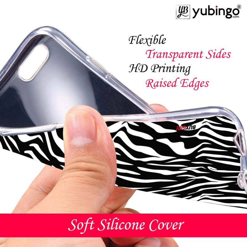 Zebra Stripes Back Cover for Apple iPhone 4 and iPhone 4S (Logo Cut)-Image3