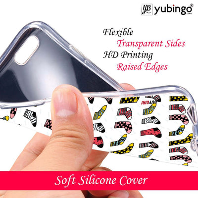 Socks Pattern Back Cover for LG V30 Plus-Image4