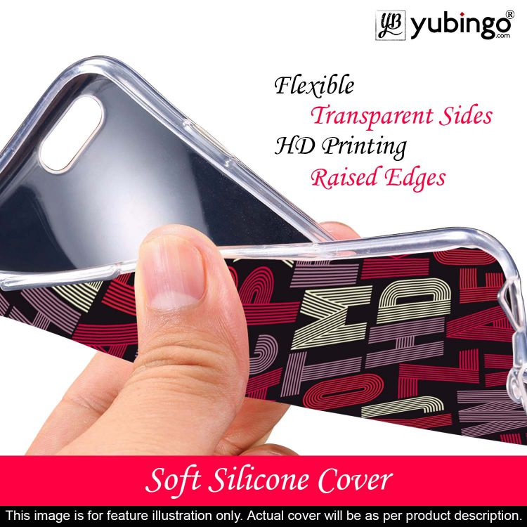 Cool Alphabets Back Cover for Lenovo K10 Note