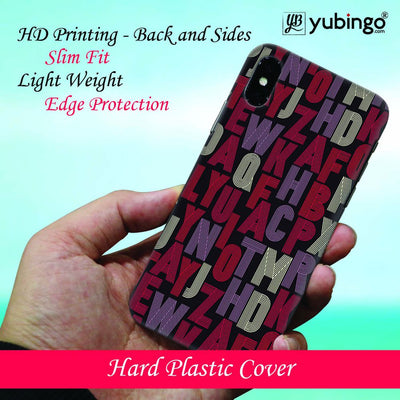 Cool Alphabets Back Cover for Apple iPhone 8 Plus-Image2