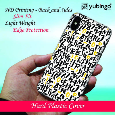 Alphabets And Numbers Back Cover for Apple iPod Touch 5-Image2