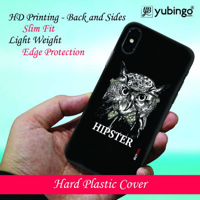 Hipster Owl Back Cover for Apple iPod Touch 5-Image2