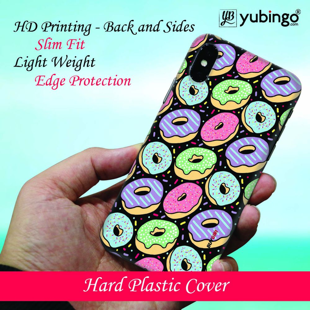 Donuts Back Cover for Apple iPhone X (Logo)
