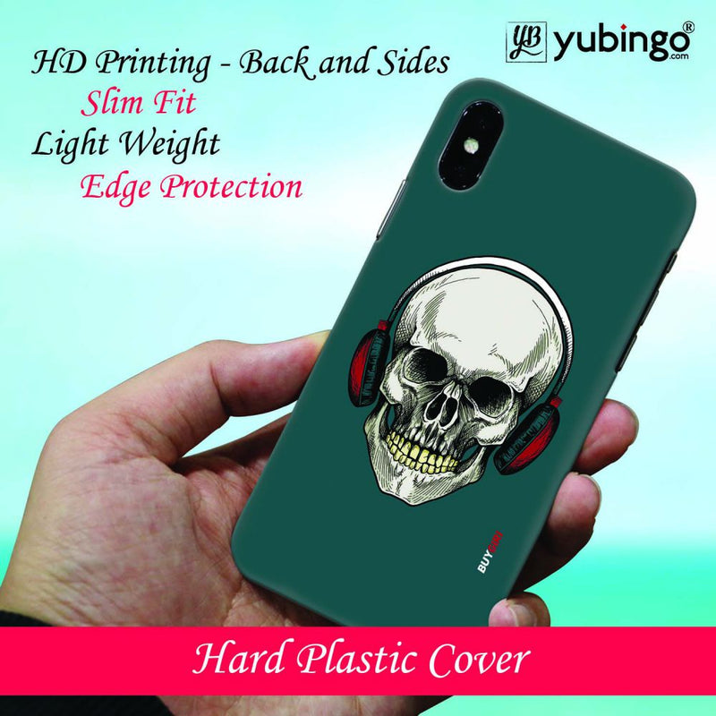 Skull Collection Back Cover for Apple iPhone X