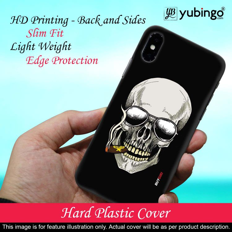 Smoking Skull Back Cover for Samsung Galaxy A10s