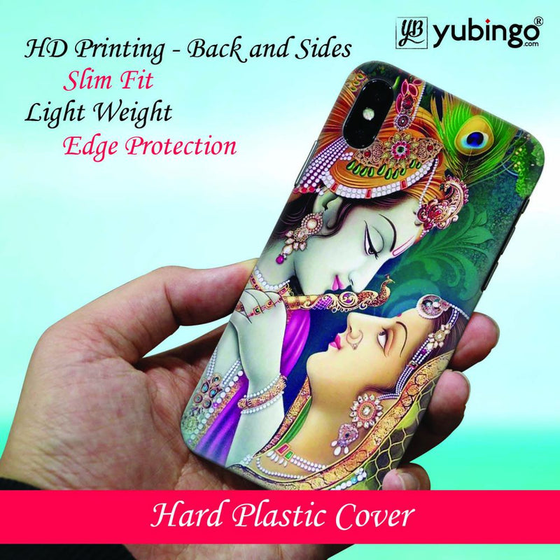 Radha Krishna Back Cover for Oppo F9 Pro