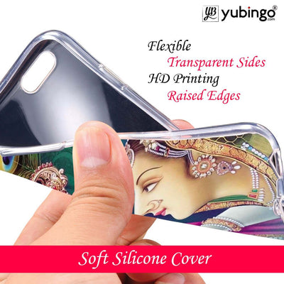 Radha Krishna Back Cover for Apple iPhone X-Image3-Image2