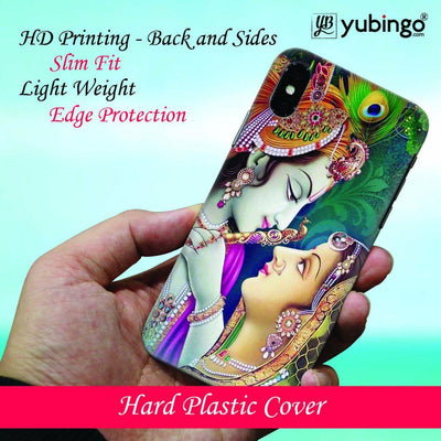 Radha Krishna Back Cover for Apple iPhone X-Image3