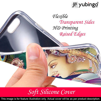 Radha Krishna Back Cover for Lava Z41-Image2