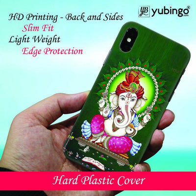 Swastik and Ganesha Back Cover for Apple iPhone X-Image4