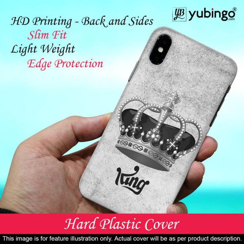 King Back Cover for Vivo V5 : V5s