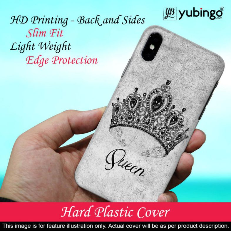 Queen Back Cover for Micromax A350 Canvas Knight