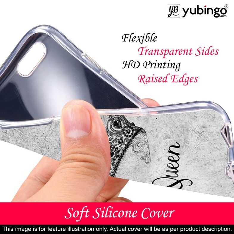 Queen Back Cover for Vivo Y91i