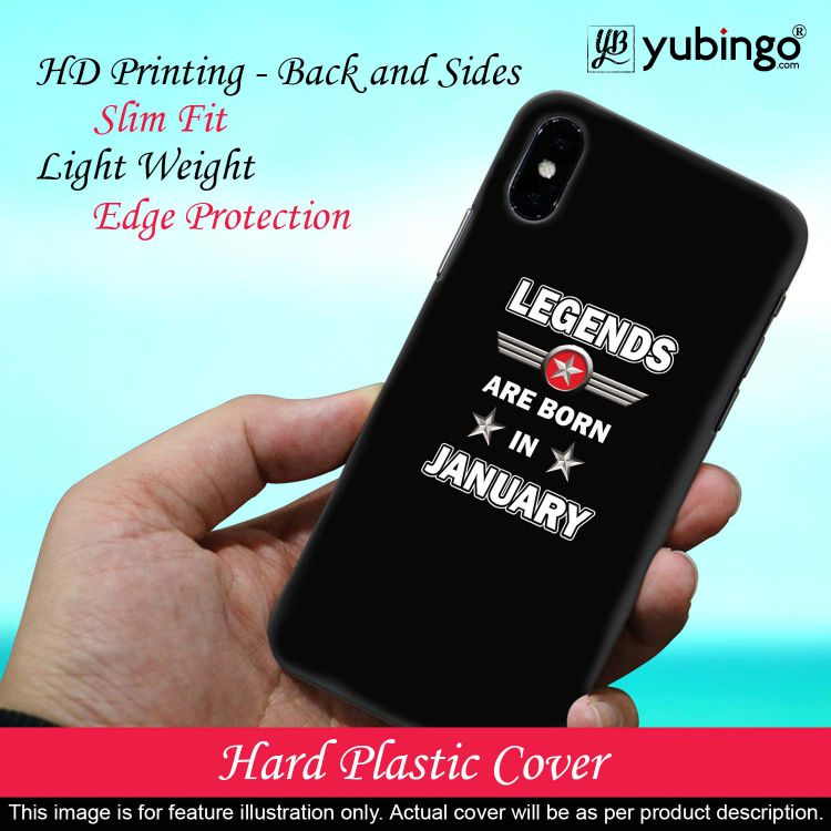 Legends Customised Back Cover for Samsung Galaxy J6 (2018)