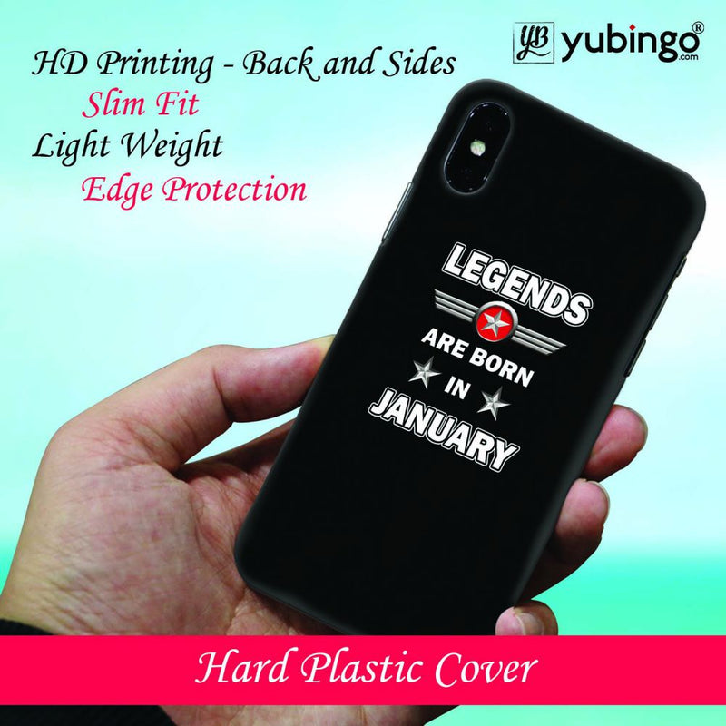 Legends Customised Back Cover for Samsung Galaxy S9