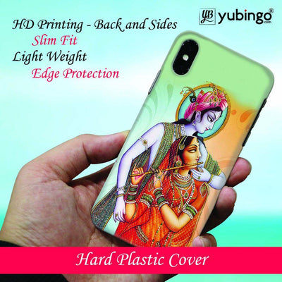 Krishna And Radha Back Cover for Apple iPhone X
