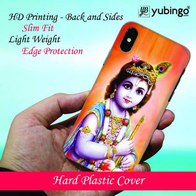 Little Krishna Back Cover for Apple iPhone X