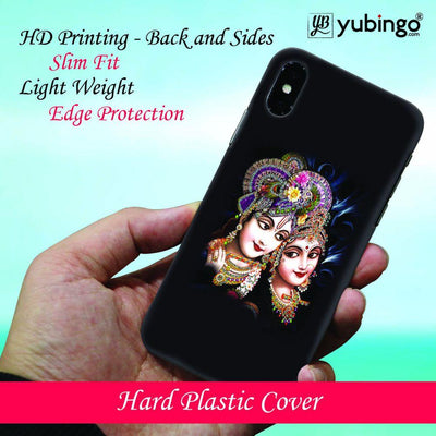 Radha And Krishna Back Cover for Apple iPhone X