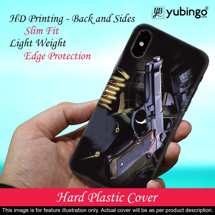 Guns And Bullets Back Cover for Realme 5 Pro