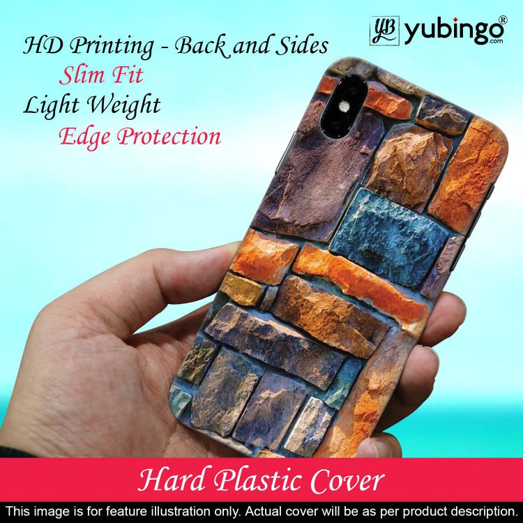 Colourful Stones Back Cover for Huawei Y9 Prime (2019)