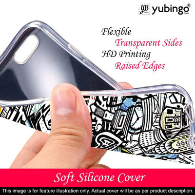 Cool Graffiti Back Cover for Lava Z41-Image2