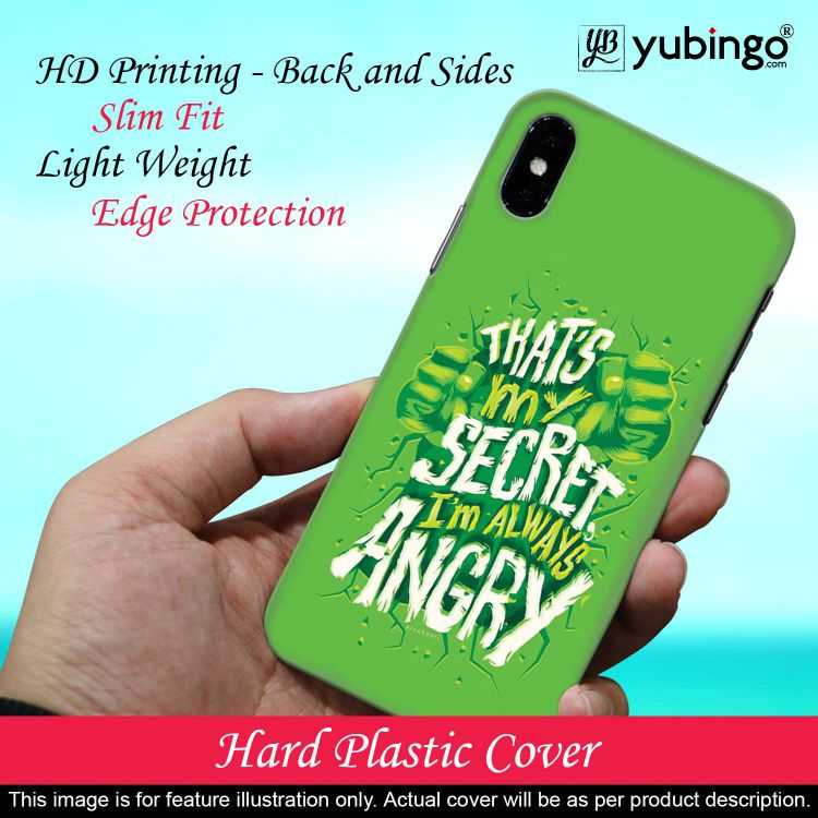 Secret I Am Always Angry Back Cover for Vivo V17 Pro