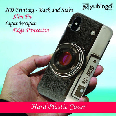Vintage Camera Back Cover for Apple iPhone X-Image3