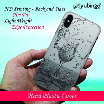 Dancing Water Back Cover for Apple iPhone X