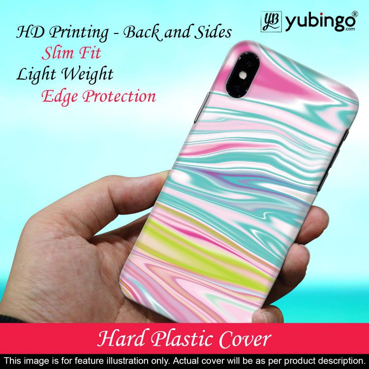 Colourful Marble Back Cover for Vivo V17 Pro
